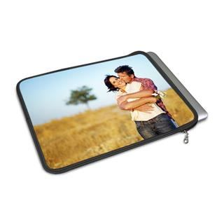 personalised macbook air case printed with couple photo