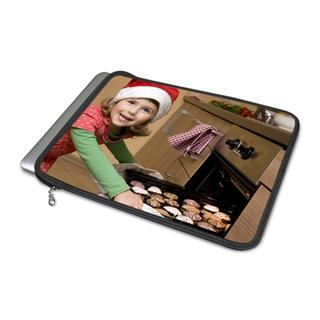 macbook air case personalised with Christmas baking photo