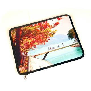 macbook case personalised with landscape photo