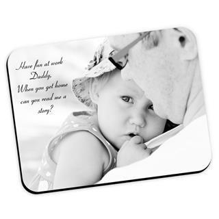Tapis de souris personnalisable avec photo