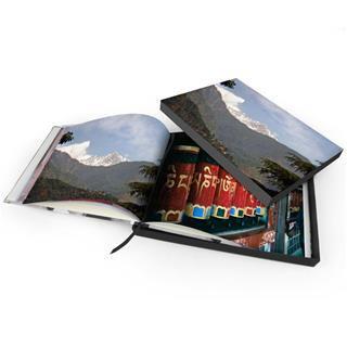 Livre personnalisable avec boîte