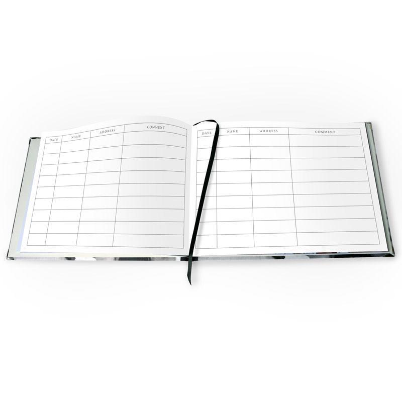 Guest book personalizzato stampa il tuo libro degli ospiti for Libro degli ospiti