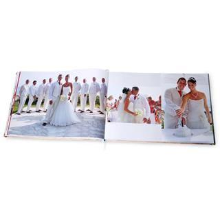 Livre imprimé avec photos de mariage