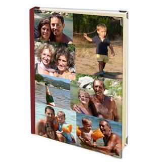 photo montage address book personalised
