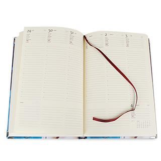 personalised diary ivory pages