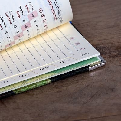 Adressbok med eget tryck