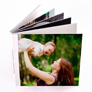 Personalised baby on board book cover