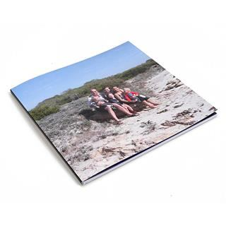 square photo book for family pictures
