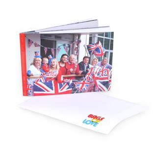 photo book with soft cover