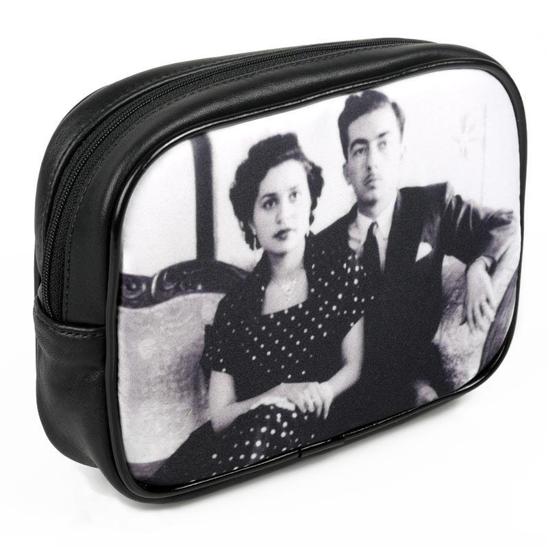 photo makeup bag custom printed