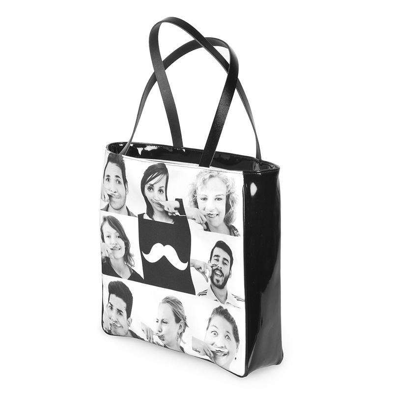 foto shopper tasche bedrucken personalisierte foto tasche. Black Bedroom Furniture Sets. Home Design Ideas
