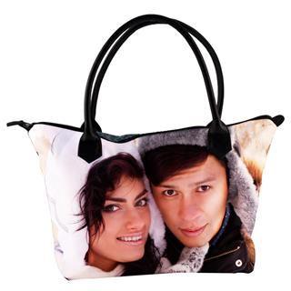 borsa personalizzata con cerniera