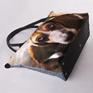 borse cerniera personalizzate cane cane