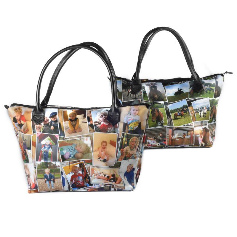 Tassen Eigen Ontwerp : Gepersonaliseerde handtas met je eigen foto of ontwerp