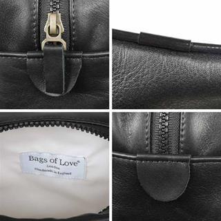 men's wash bag details