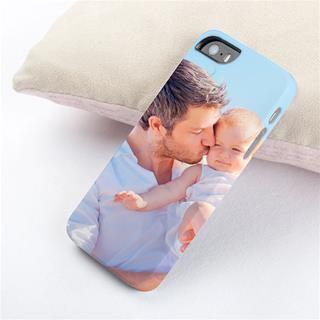 carcasa iphone 5 con foto padre e hijo