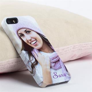 carcasa iphone 5 con foto de mujer