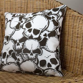 skull photo pillows