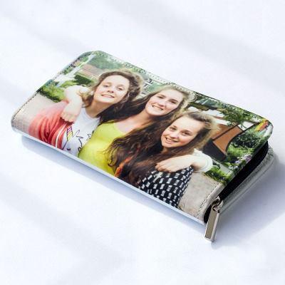 Portefeuille femme zippé