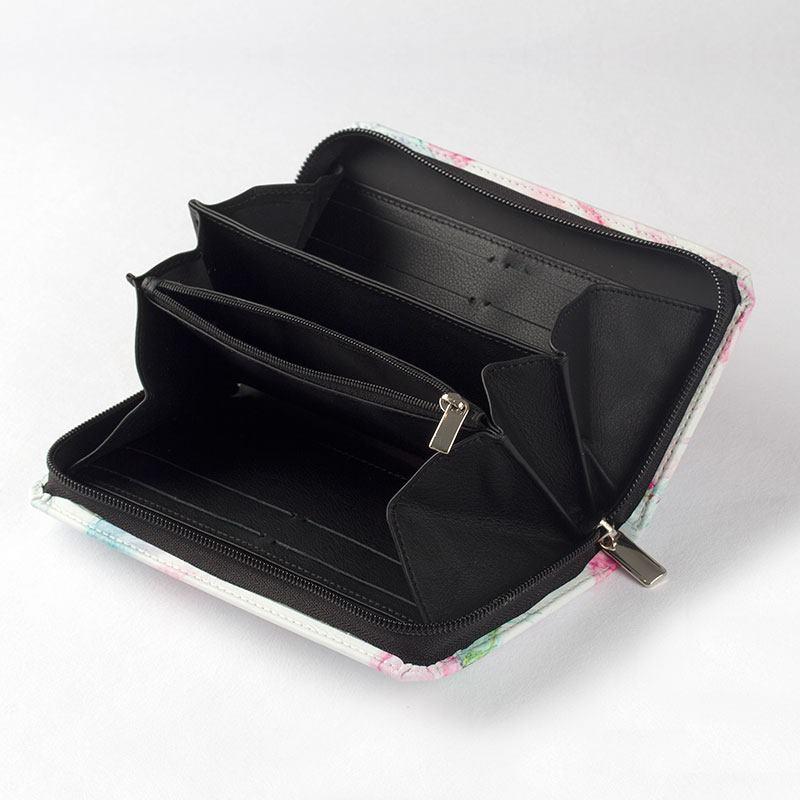 portefeuille femme zipp compagnon personnalis en cuir. Black Bedroom Furniture Sets. Home Design Ideas
