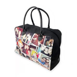 personalised photo montage holdall