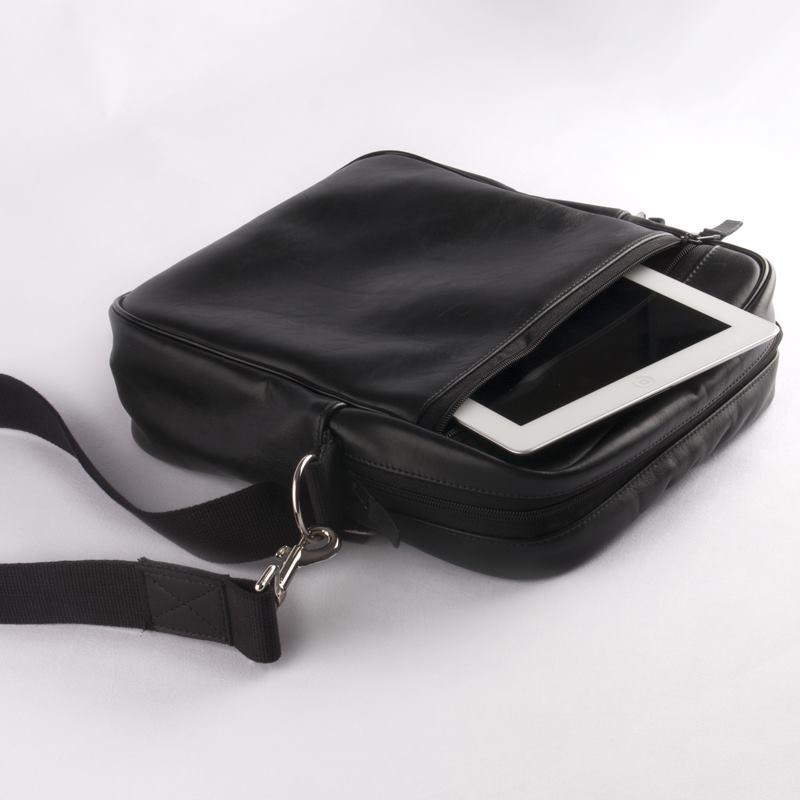 borsa tracolla tasca esterna