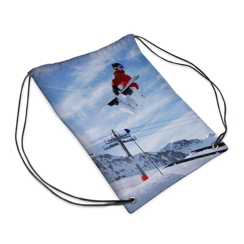 Sac de sport personnalis pour enfant id e cadeau photo for Sac piscine personnalise