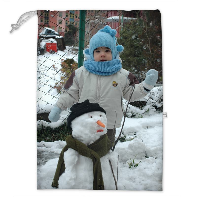 Sack Of Toys For Christmas : Toy sack for children custom with your photos