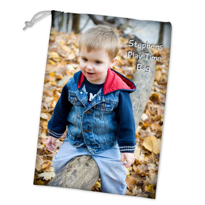 Personalized Toy Sack with photos