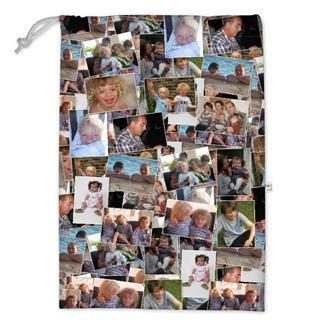 borsa porta giochi con collage di foto online