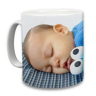 Mug imprimé photo bébé
