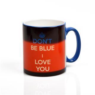 heat change mug UK message