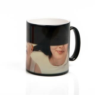 heat sensitive photo mug