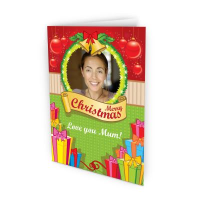 Christmas Photo Upload Cards