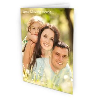 photo upload thank you card