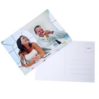 personalised photo postcards newlywed
