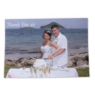 personalised photo postcards wedding