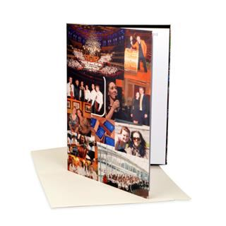 personalised A3 greetings card