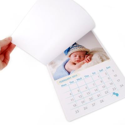 Calendrier photo formats A4 A3