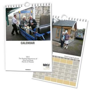 photo calendar montage