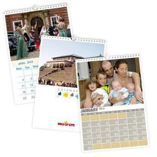 Fotokalender selbst gestalten für das ganze Jahr