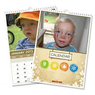 Calendarios personalizados con fotos de bebe