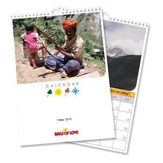 Calendarios personalizados viaje