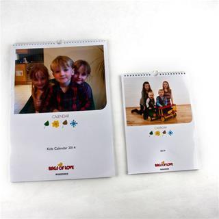 Fotokalender zum selber gestalten in 2 Größen