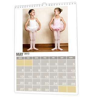 Calendarios personalizados con fotos de vallet