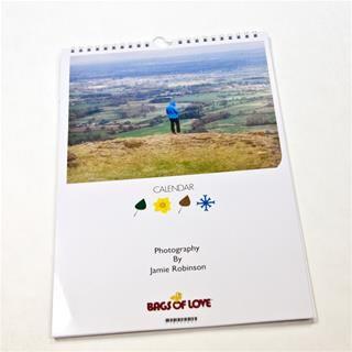 Calendarios personalizados con paisaje