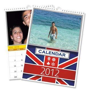 Foto kalender selbst gestalten mit Urlaubsbildern