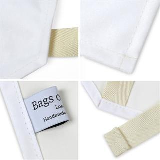 Tablier imprimé étiquette
