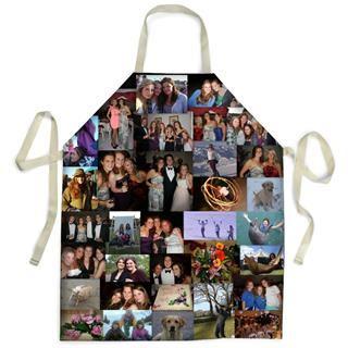 personalised apron montage