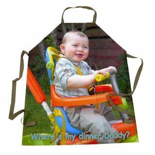 Foto Schürze selber gestalten Babyfoto